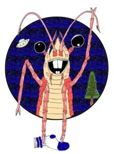 """Shrimpy,"" our Mascot"